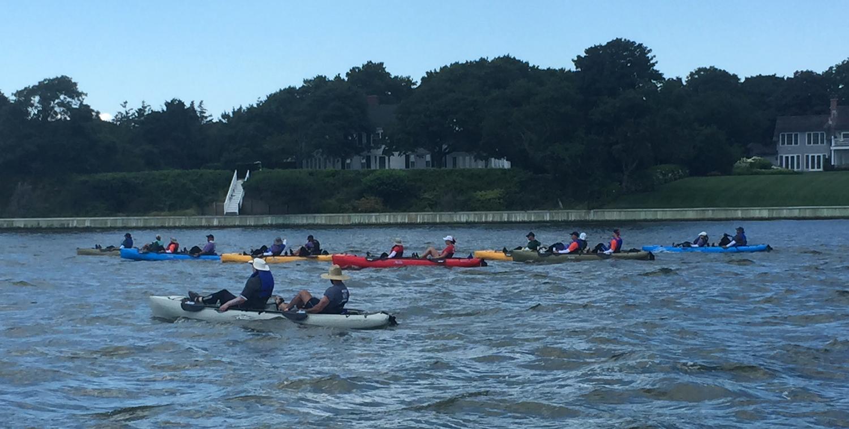 Coastal Team Challenge athletes near shore.