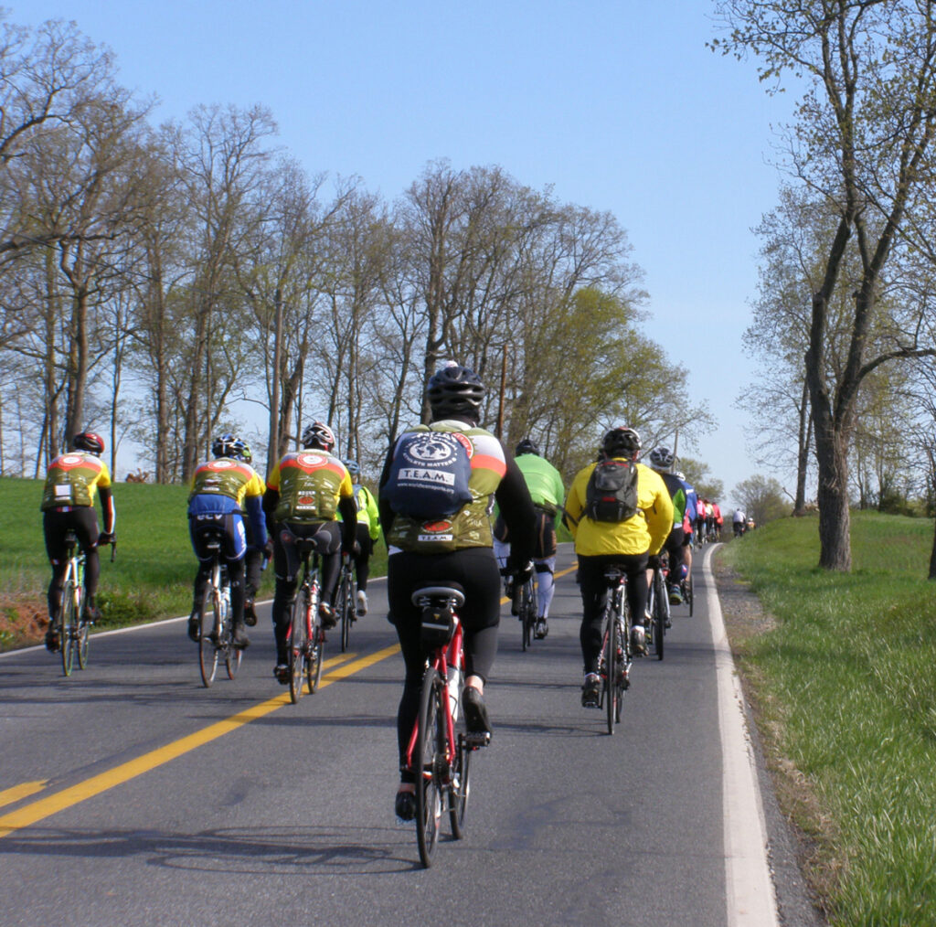 2015 Face of America riders pedal north.