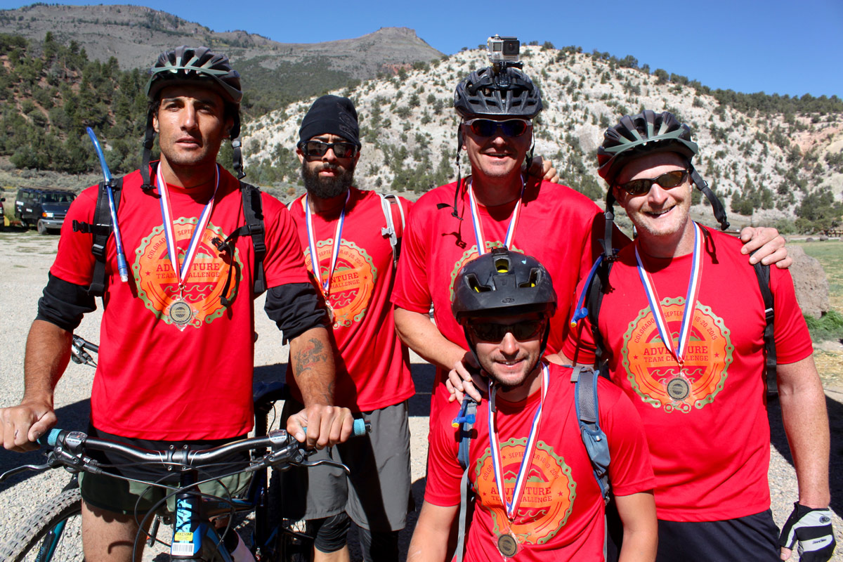 The 2015 Adventure Team Challenge Marines Team