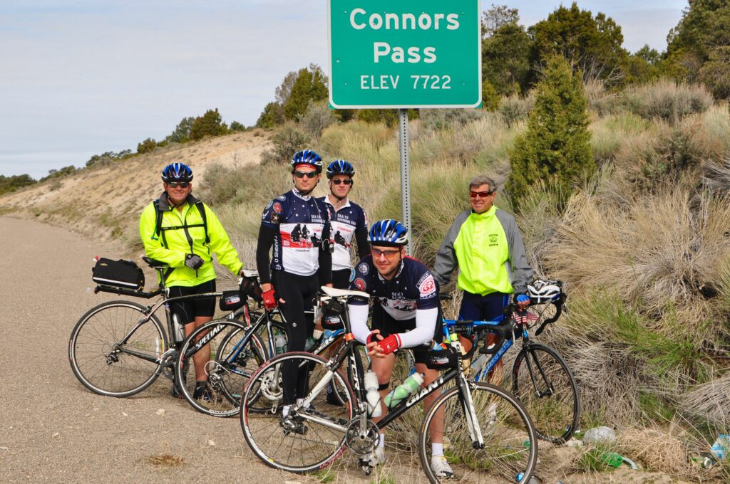 Brian Petras and friends on Sea to Shining Sea 2010.
