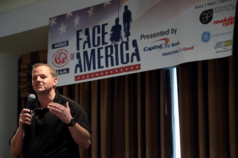 Van Brinson at Face of America 2013.