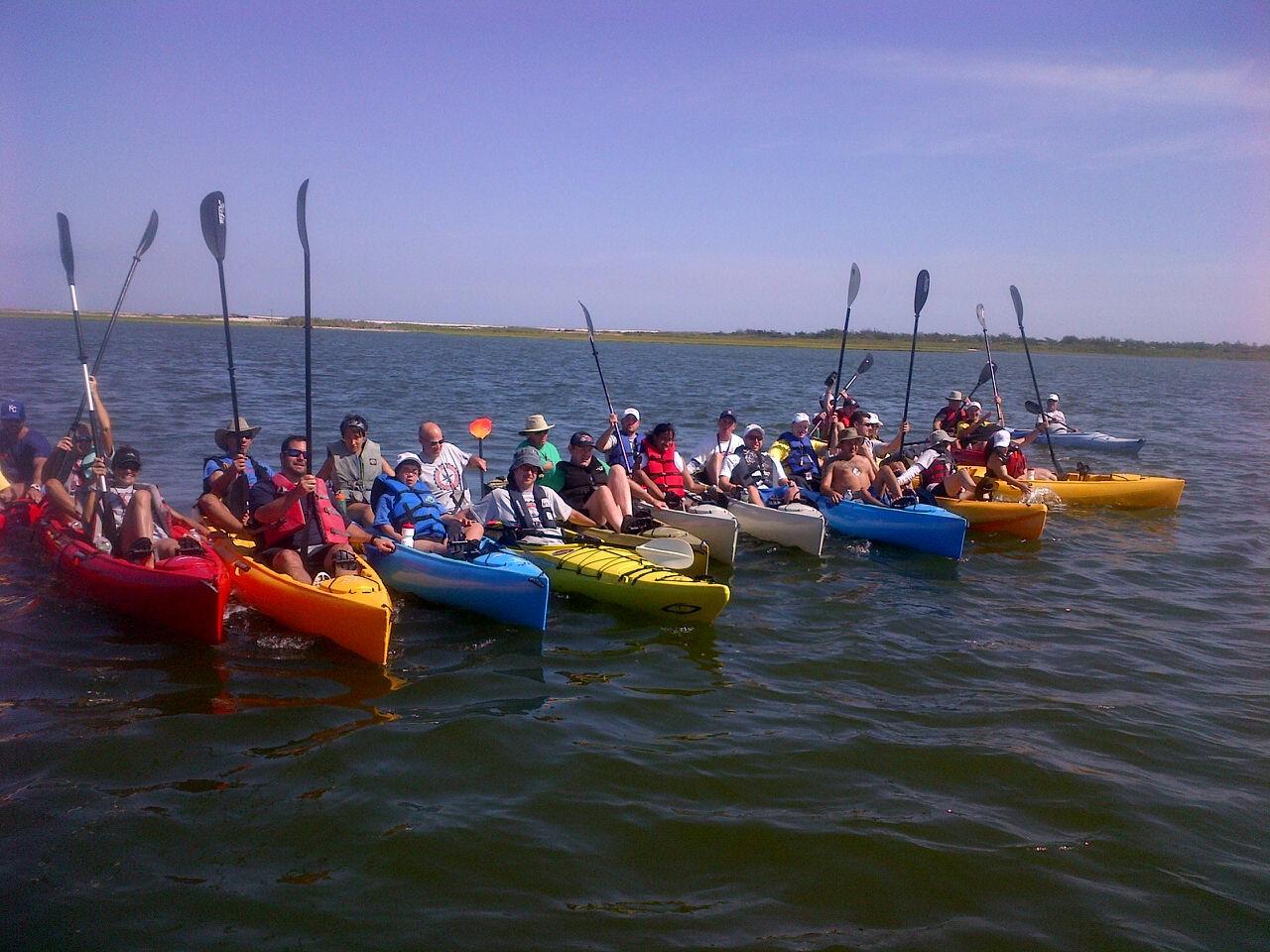 2014 Coastal Team Challenge athletes.