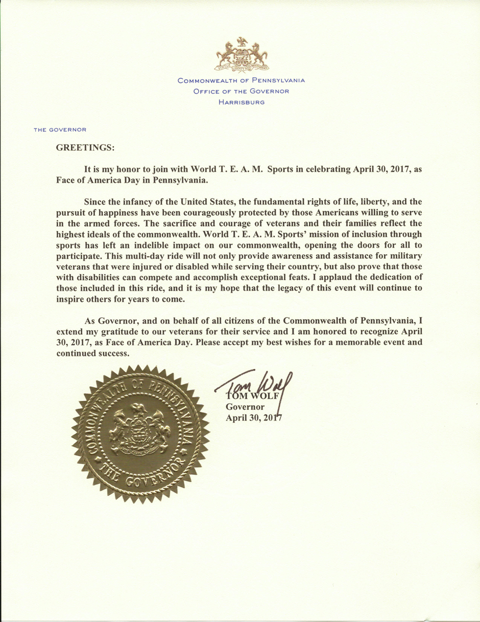 Face of America Day Proclamation