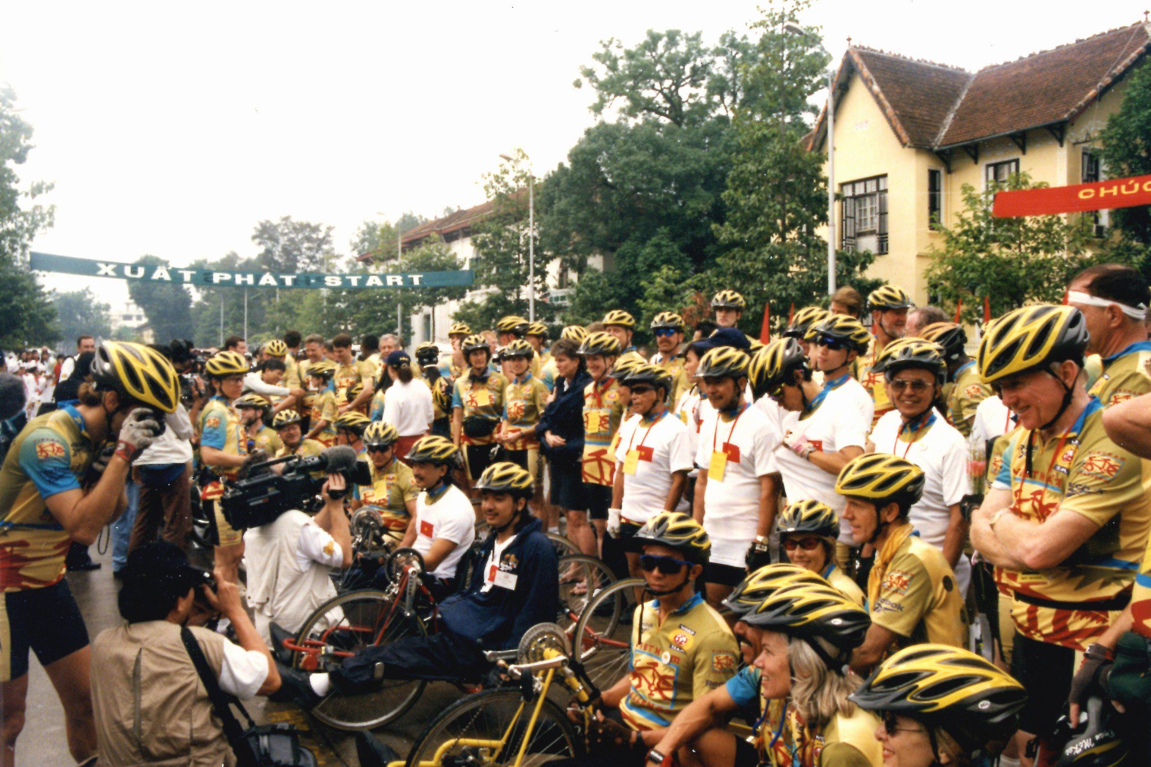 Vietnam Challenge starting line