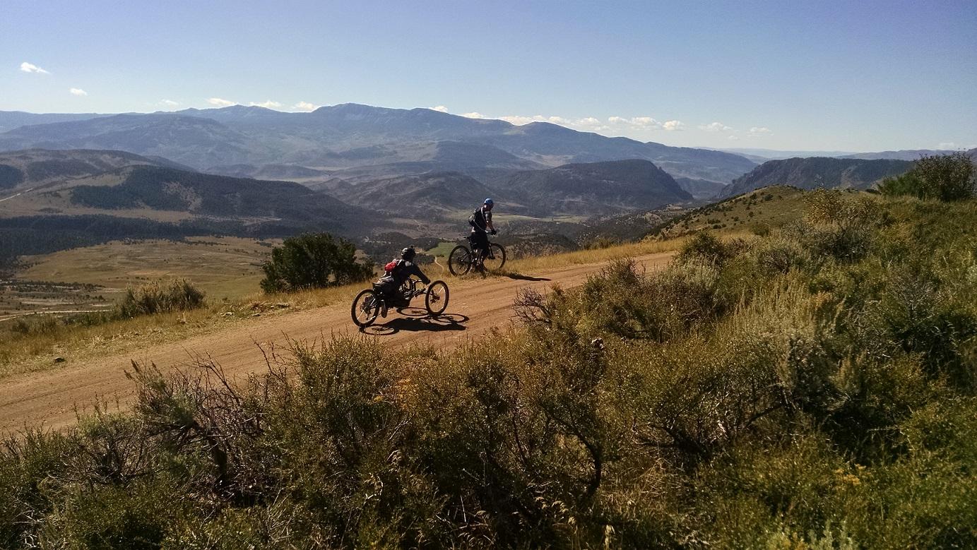 Gore Mountains view