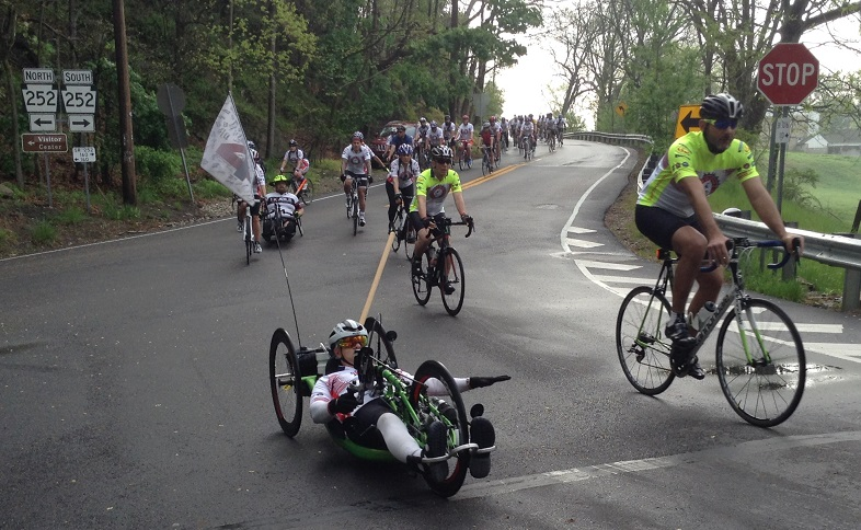 Cycling at Face of America 2017