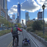 Cycling to the World Trade Center