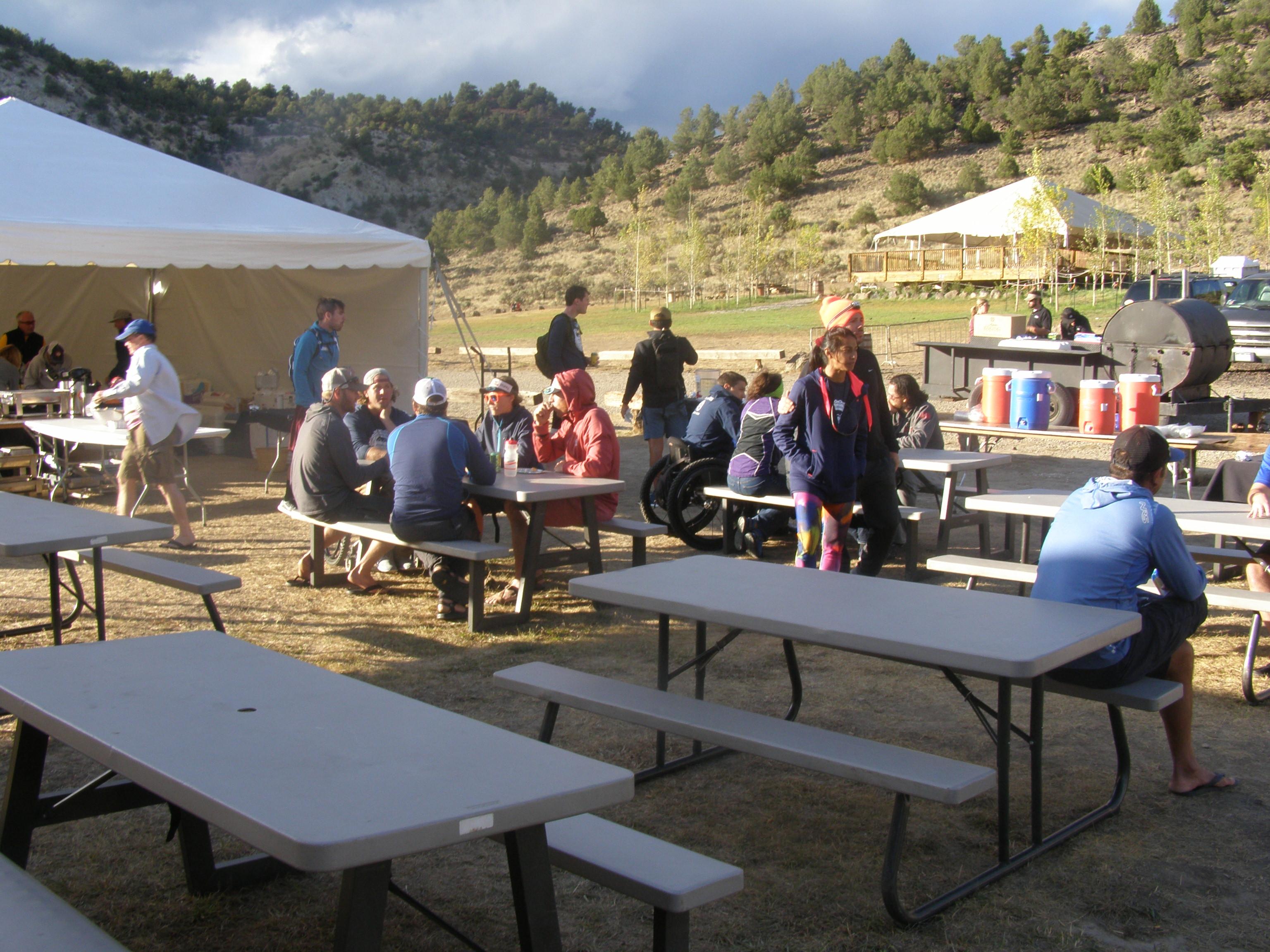 Rancho del Rio base camp.