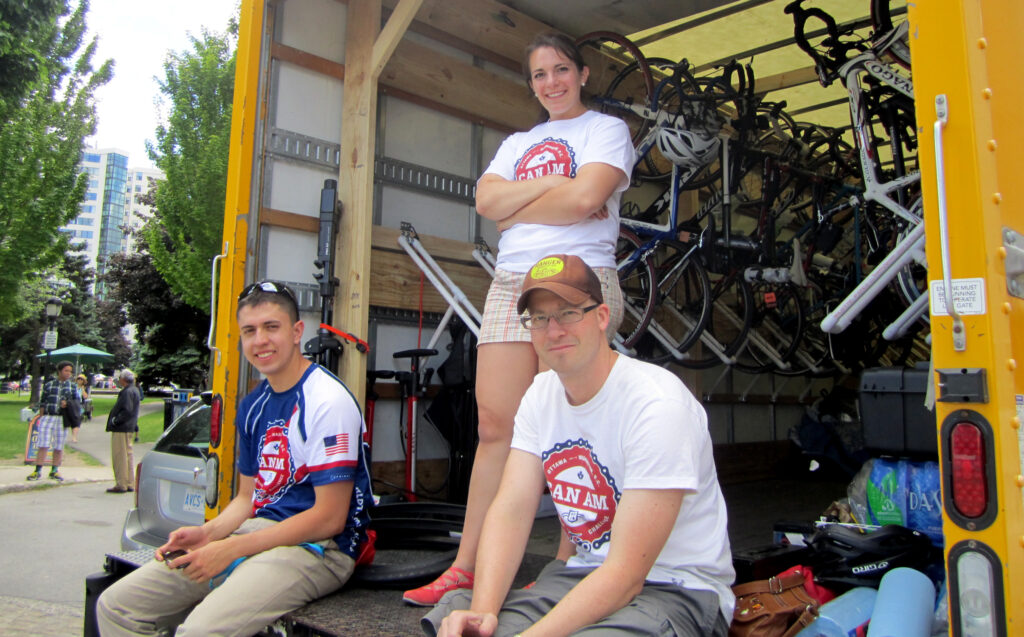 Brian Petras and friends, CanAm Veterans' Challenge 2014.