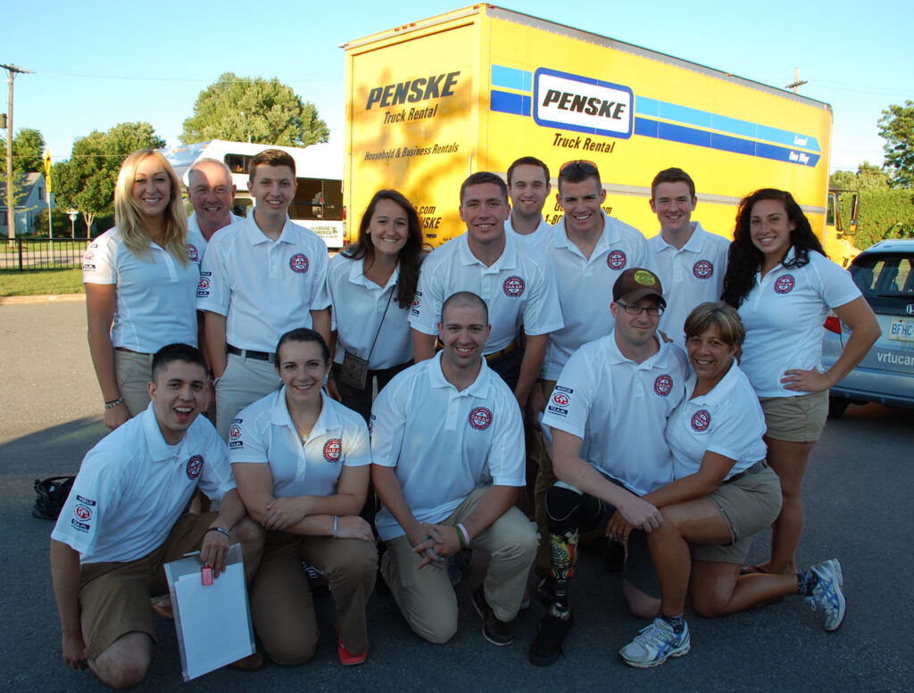 Brian Petras and the staff, CanAm 2014.