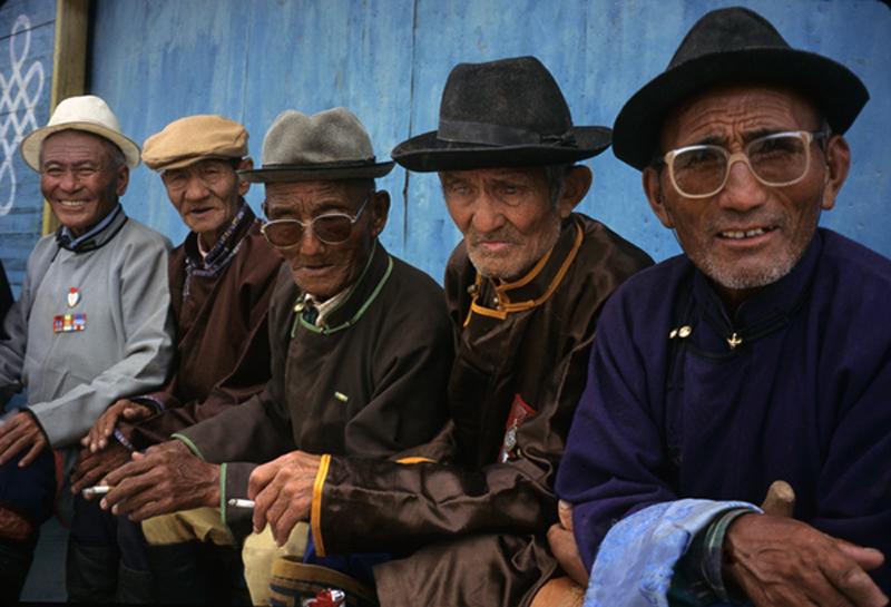 Mongolian World War II Veterans