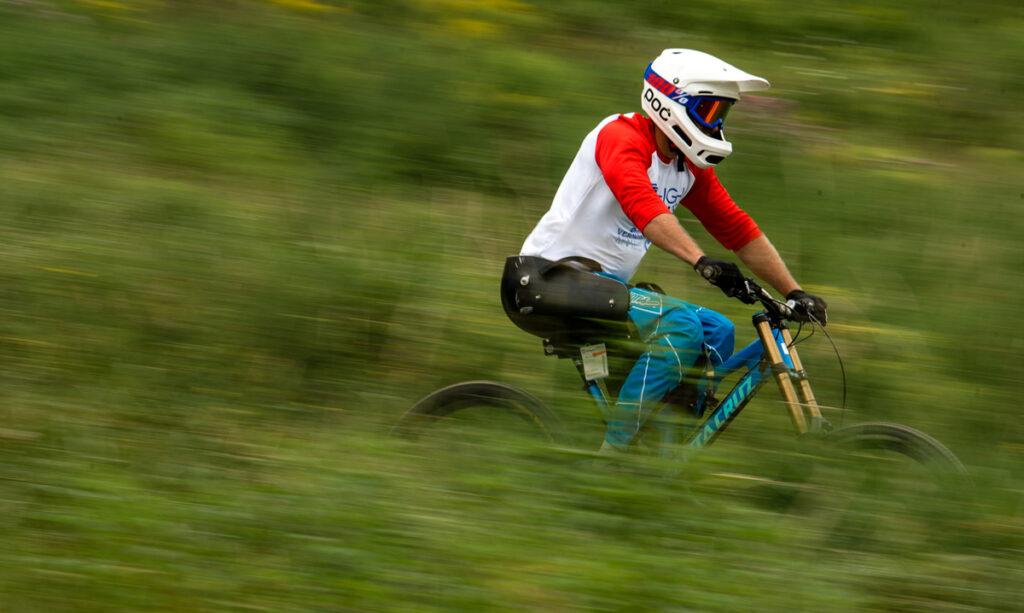 Ryan St. Lawrence cycling.