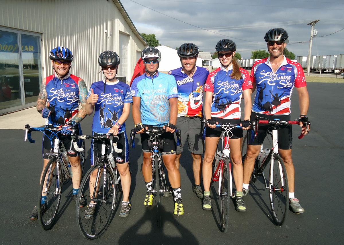 Sea to Shining Sea riders 2012