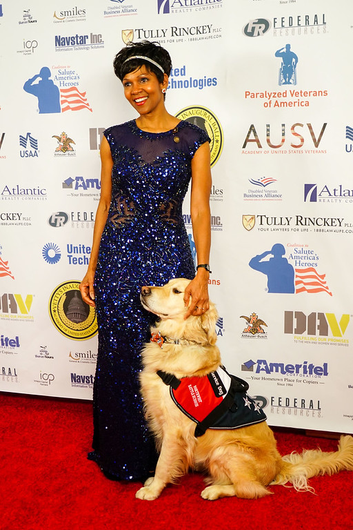 Shanda Taylor-Boyd and her dog Timber