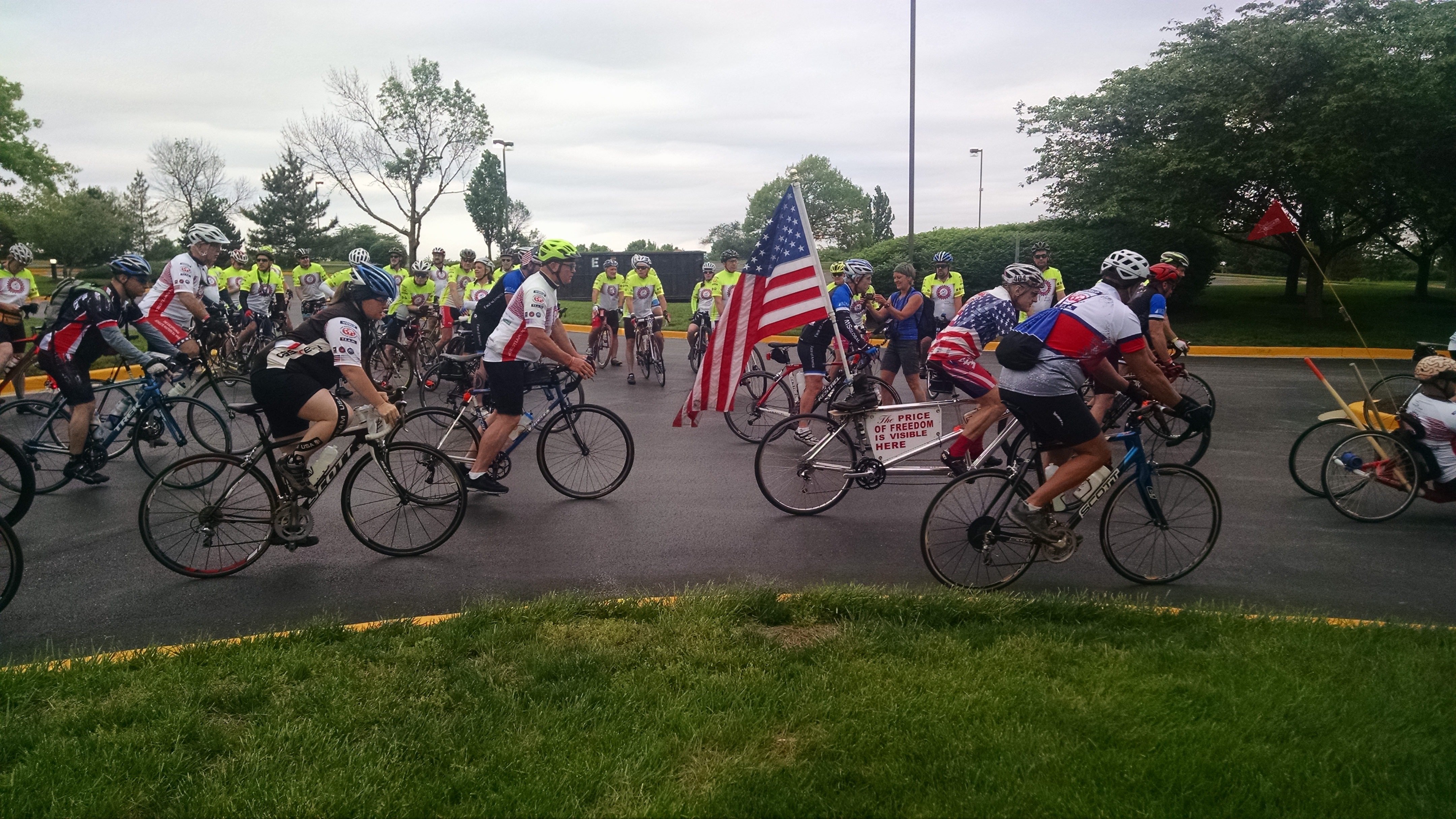 Arlington Route athletes begin from Frederick
