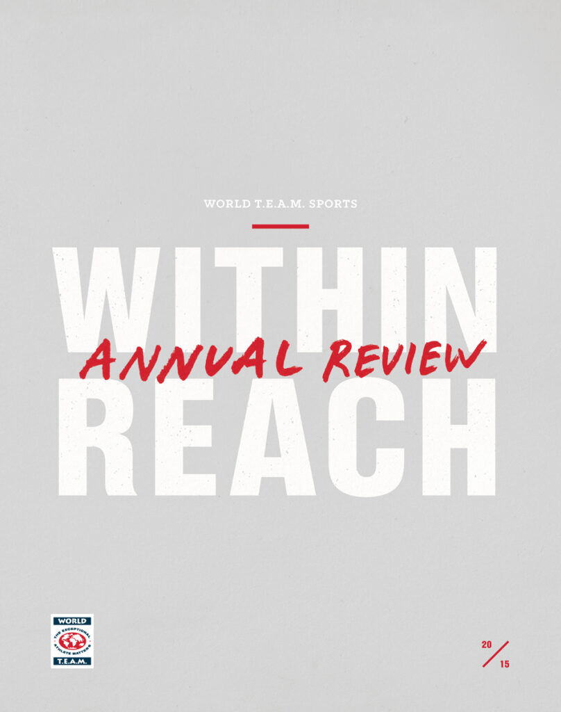 2015 Annual Review cover print edition.