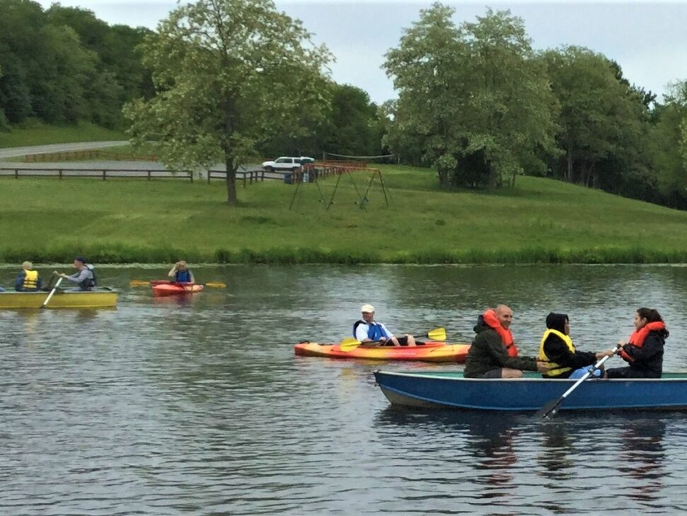 Adventure Team Challenge regatta.